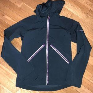 Girls Columbia jacket zip hood